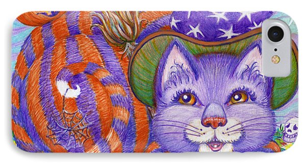 IPhone Case featuring the drawing Bellaweena by Dee Davis