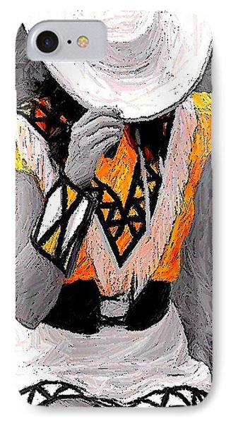 Belle Art 26 IPhone Case by Carrie OBrien Sibley