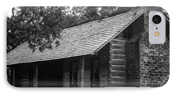 IPhone Case featuring the photograph Belle Meade Log Cabin by Robert Hebert