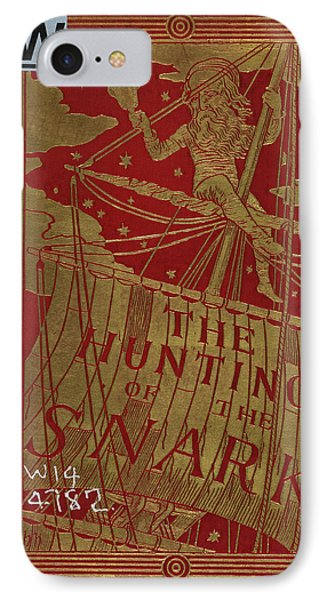 Bellman Sitting In The Mast Of The Ship IPhone Case by British Library