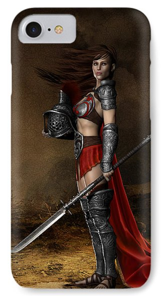 Bellona Goddess Of War IPhone Case by Shanina Conway