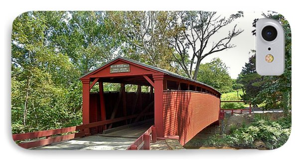 Bells Mills Covered Bridge IPhone Case