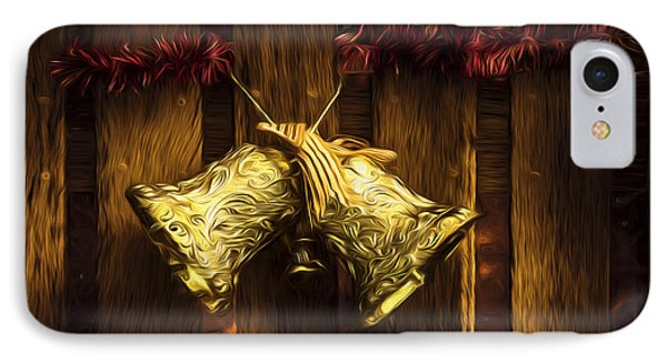 Bells Of Christmas Joy IPhone Case by Jorgo Photography - Wall Art Gallery