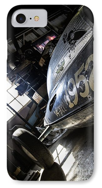 Belly Tanker - Old Crow Speed Shop- Metal And Speed IPhone Case