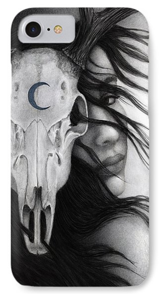 IPhone Case featuring the painting Beltane by Pat Erickson
