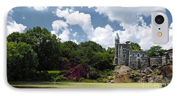 Belvedere Castle Turtle Pond Central Park Phone Case by Amy Cicconi
