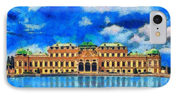 Belvedere Palace Phone Case by George Rossidis