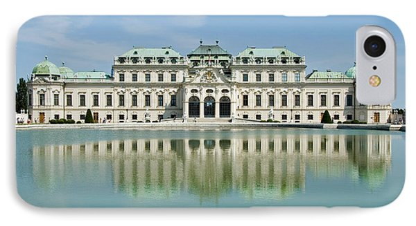 IPhone Case featuring the photograph Belvedere Palace by Jeremy Voisey