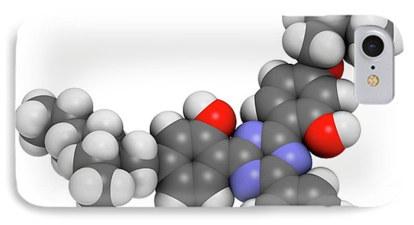 Bemotrizinol Sunscreen Molecule IPhone Case