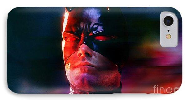 Ben Affleck Daredevil IPhone Case by Marvin Blaine