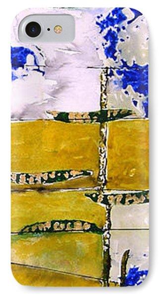 Ben And Jewel Panel 3 Phone Case by Sandra Gail Teichmann-Hillesheim