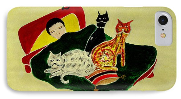Ben And The Cats IPhone Case