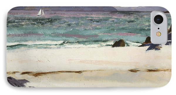 Ben Bhuie From The North End   Iona IPhone Case by Francis Campbell Boileau Cadell