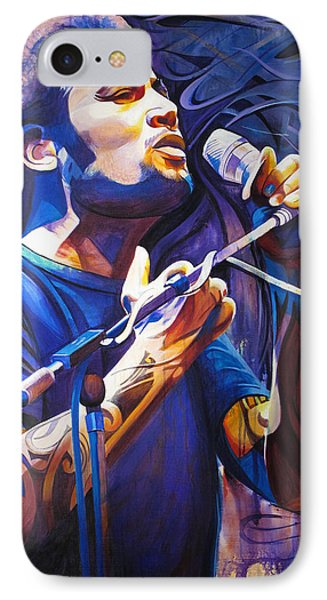 Ben Harper And Mic Phone Case by Joshua Morton