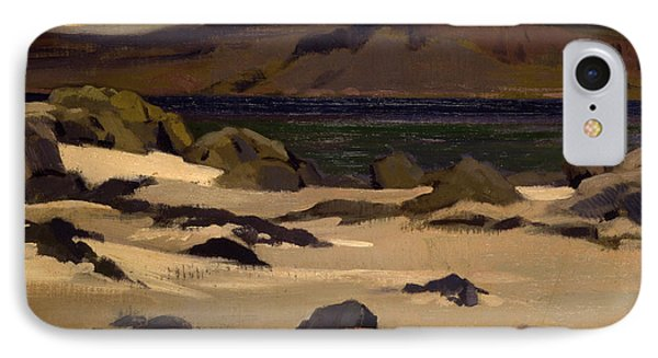 Ben More From Cows Rock IPhone Case by Francis Campbell Boileau Cadell