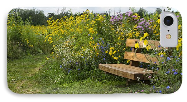 Bench And Meadow IPhone Case