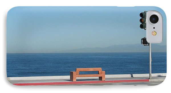 Bench By The Sea IPhone Case by Stuart Hicks