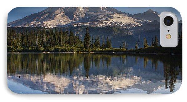 Bench Lake Sunrise IPhone Case by Mark Kiver