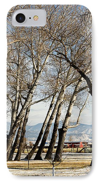 IPhone Case featuring the photograph Bench With A View by Sue Smith