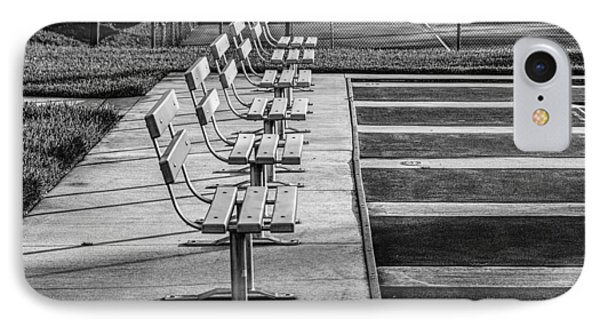 Benches At The Ready IPhone Case