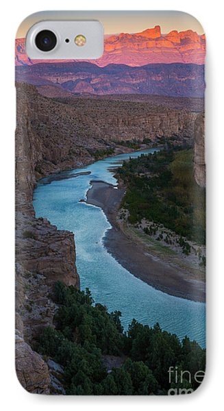 Bend In The Rio Grande IPhone Case by Inge Johnsson