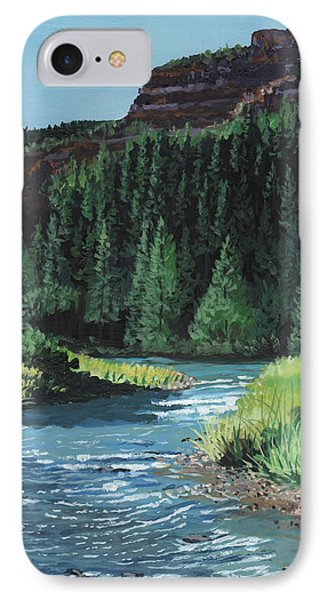 Bend In The River IPhone Case