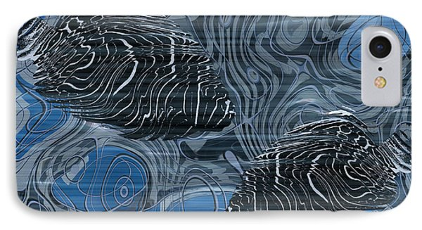 Beneath The Waves Series Phone Case by Jack Zulli