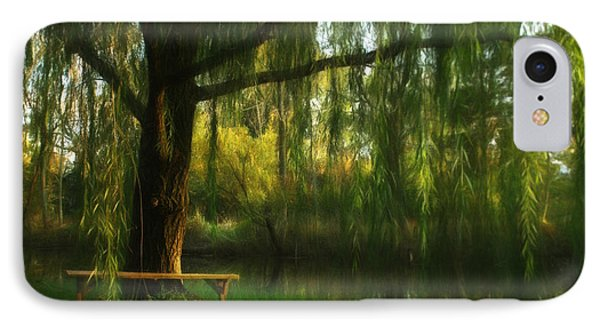 Beneath The Willow IPhone Case