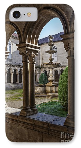 Benedictine Gothic Cloister Phone Case by Jose Elias - Sofia Pereira