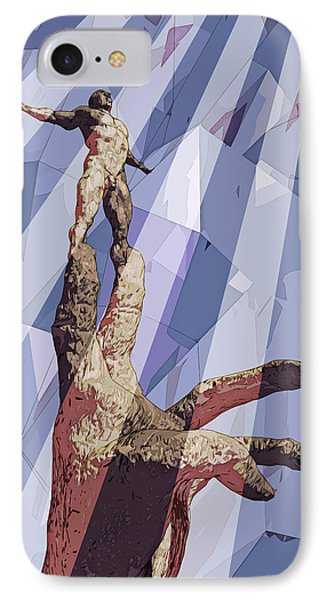Benediction IPhone Case by Matt Lindley