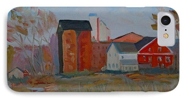 IPhone Case featuring the painting Benfield's Mill by Francine Frank