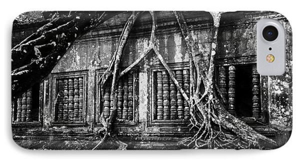 Beng Mealea Ruins IPhone Case by Julian Cook