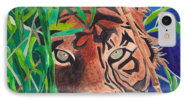 Bengal Eyes IPhone Case by Molly Williams