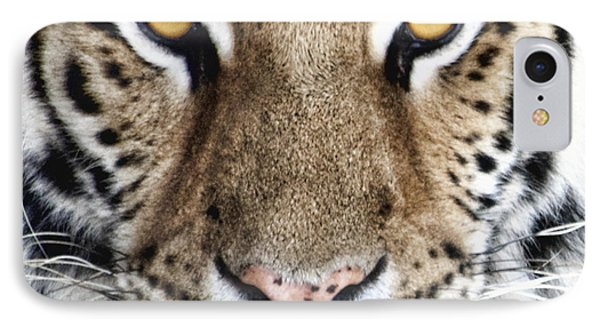 Bengal Tiger Eyes IPhone Case by Tom Mc Nemar
