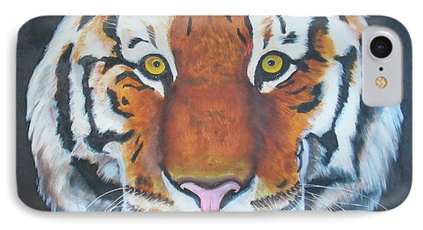 IPhone Case featuring the painting Bengal Tiger by Thomas J Herring