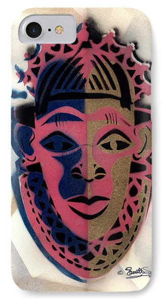 Benin Mask IPhone Case