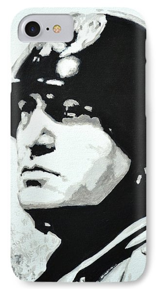 Benito Mussolini IPhone Case