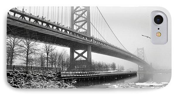 Benjamin Franklin Bridge IPhone Case