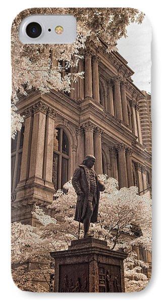Benjamin Franklin Phone Case by Joann Vitali