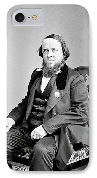 Benjamin Silliman IPhone Case by Library Of Congress