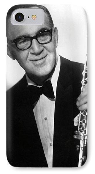 Benny Goodman (1909-1986) Phone Case by Granger