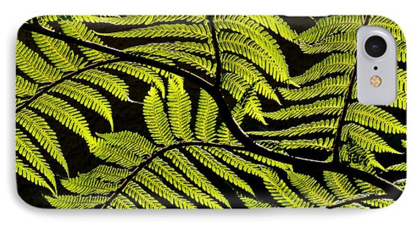 Bent Fern IPhone Case