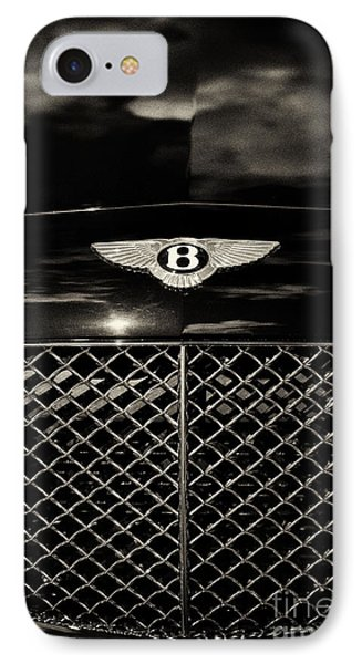Bentley Continental Gt Sepia IPhone Case by Tim Gainey