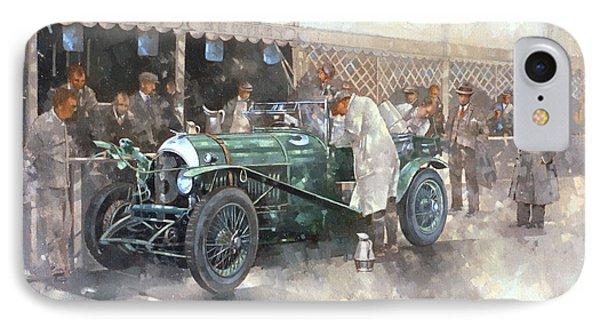 Bentley Old Number 7 IPhone Case by Peter Miller