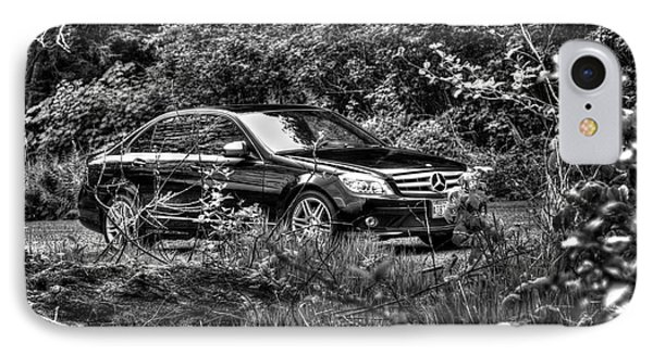 Benz On A Photo Shoot IPhone Case