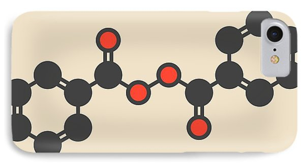 Benzoyl Peroxide Acne Drug Molecule IPhone Case