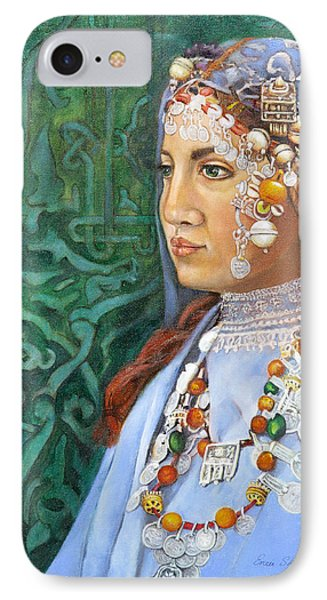 Berber Woman Phone Case by Enzie Shahmiri