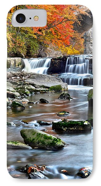 Berea Falls Ohio Phone Case by Frozen in Time Fine Art Photography