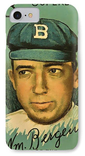 Bergen Brooklyn Dodgers IPhone Case
