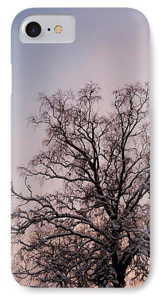 Bergen  Winter Tree IPhone Case by Hakon Soreide
